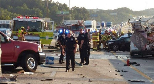 Chattanooga Multi Vehicle Crash Caused by Deadly Cocktail of Drugs and Fatigue