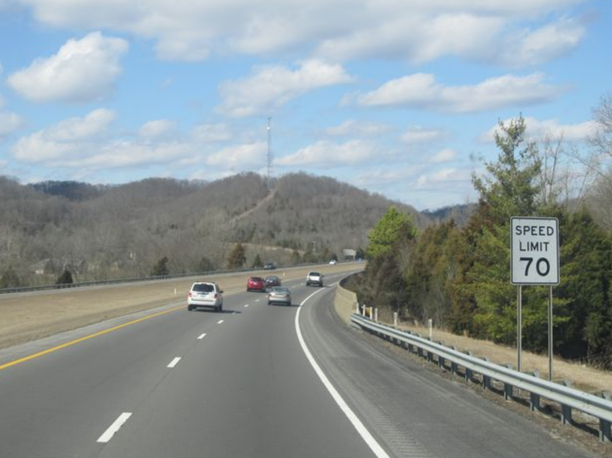 Speed limit in Tennessee