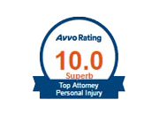 Avvo Rating Icon- 10.0 Superb Top Attorney Personal Injury